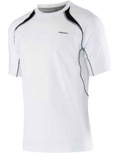 Head Club M T-shirt Technical White