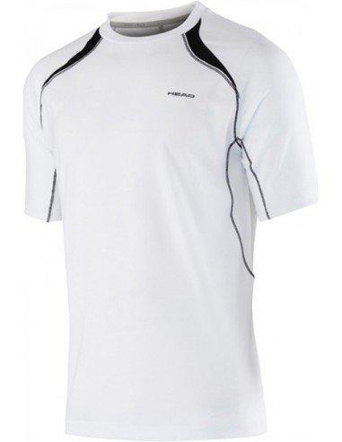 Head Club M T-shirt Technical White