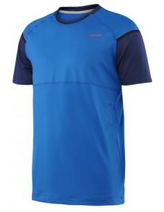 Head Performance M Crew Neck T-Shirt Blue