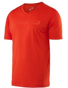 Head Transition M T4S V-Neck Shirt Flame