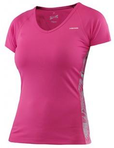 Head Vision W Bee T-Shirt Basic Pink