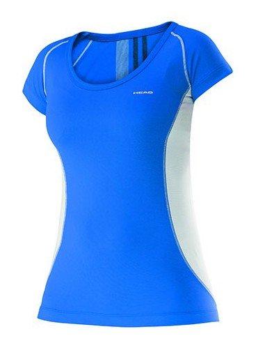 Head Club W T-Shirt Technical Blue