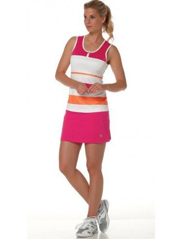 Limited Sports Tallia Top Stripes Bright Rose