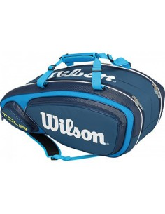 Wilson Tour V 9 Pack Blue