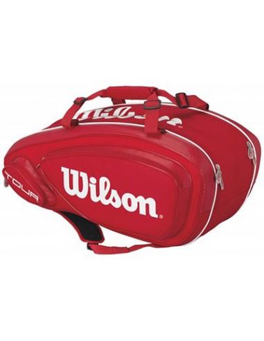 Wilson Tour V 9 Pack Red