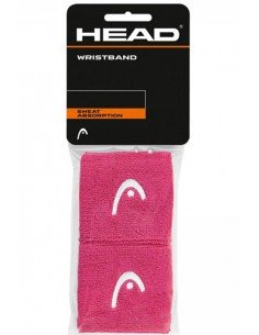 Head Wristband 2.5 inch Pink