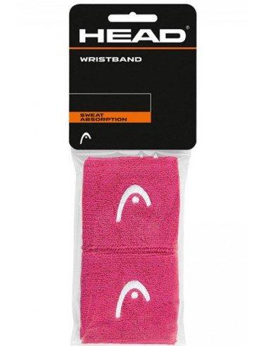 Head Wristband 2.5 inch Pink