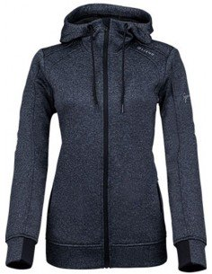 Sjeng Sports Lady Full Zip Top Renske Black