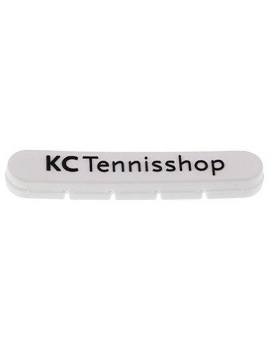 KCtennis Logo demper Wit