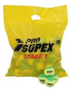 Pro Supex tennisbal Stage 1 (Geel/Groen)