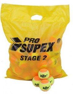 Pro Supex tennisbal Stage 2 (Geel/Oranje)