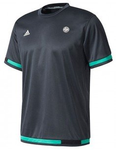 Tenniskleding Tee night Garros Grey Roland Beschikbaar Heren Adidas FBqExYnwPU