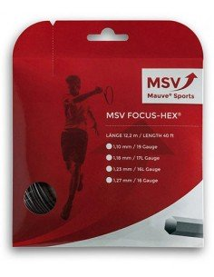 MSV Focus Hex Black