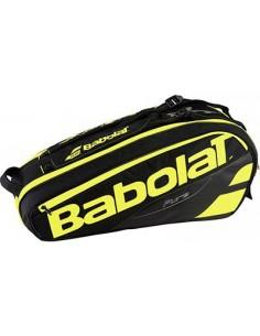 Babolat Racket Holder X6 Pure Black/Yellow
