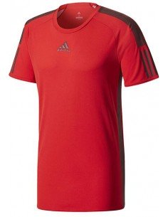 Adidas Barricade Tee Scarlet/Black