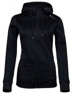Sjeng Sports Lady Full Zip Top Renee Black