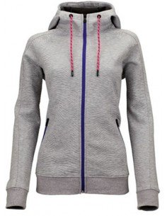 Sjeng Sports Lady Full Zip Top Turi Grey