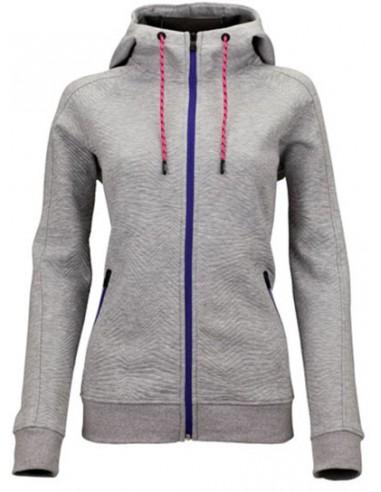 Sjeng Sports Lady Full Zip Top Turi Grey