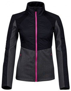 Sjeng Sports Lady Full Zip Top Tholita Black
