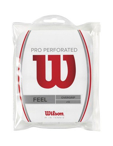 Wilson Pro Overgrip 12 pack Perforated