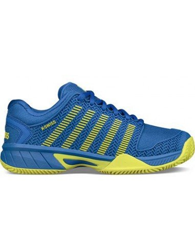 Kswiss Hypercourt Express HB Junior Strong Blue/Neon
