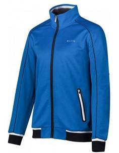 Sjeng Sports Men Full Zip Top Loyd Electric Blue