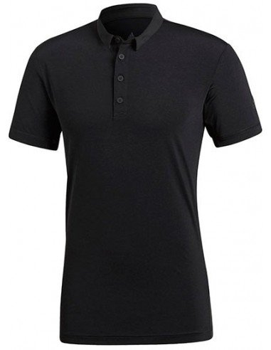 Adidas Heathered Polo Men Black