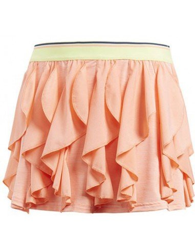 Adidas Girls Frilly Skirt Coral
