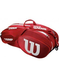 Wilson Team III 6 Pack 2018 Red