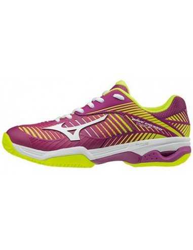 Mizuno Wave Exceed Tour 3 CC Purple/Yellow
