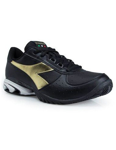 Diadora S.Star K Elite AG Black/Gold