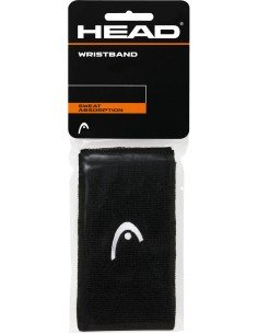Head Wristband 5 inch Black