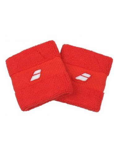 Babolat Wristband 2 Pack Red