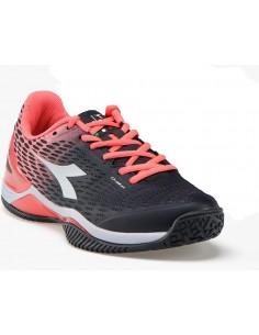 4820c882c4b Diadora Speed BluShield 2 W SG Black/Flue Coral. Beschikbaar. Tennisschoenen