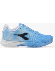ad1cbd02829 De Diadora S. Competition 4 SG Irish Blue/White. Beschikbaar. Tennisschoenen
