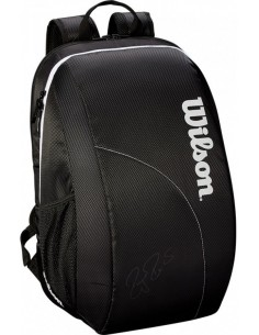 Wilson Federer Team Backpack Black/White