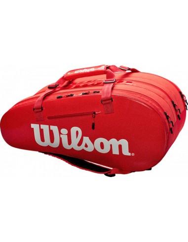 Wilson Super Tour 3 Comp Bag Red