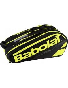 Babolat Racket Holder X12 Pure Black/Fluo Yellow