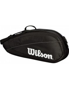 Wilson Federer Team 6 Pack Black/White