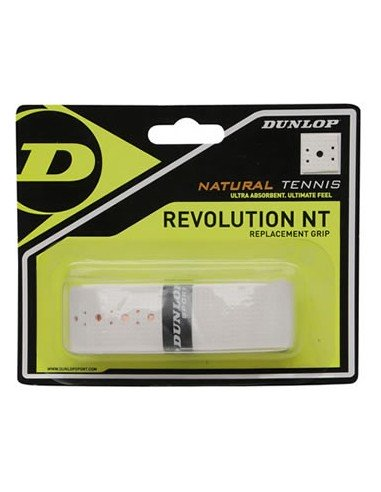 Dunlop Revolution NT Basisgrip white