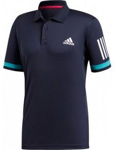 Adidas Club 3 Stripes Polo Men Legend Ink