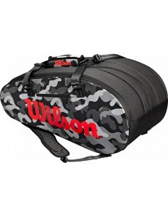 Wilson Super Tour Camo Black