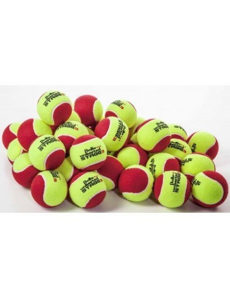 Unlimited Balls Stage 3 Yellow/Red 60 stuks