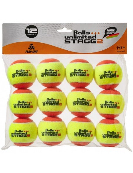 Unlimited Balls Stage 2 Orange /Yellow 12 stuks