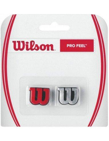Wilson Pro Feel Rood/Zilver