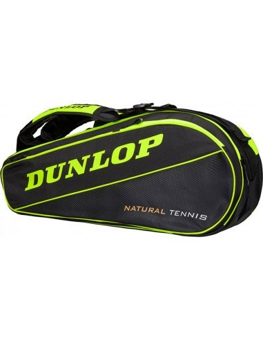 Dunlop NT 8-racketbag (Yellow/Black) 2019