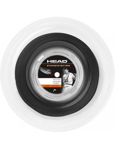 Head Synthetic Gut PPS Black