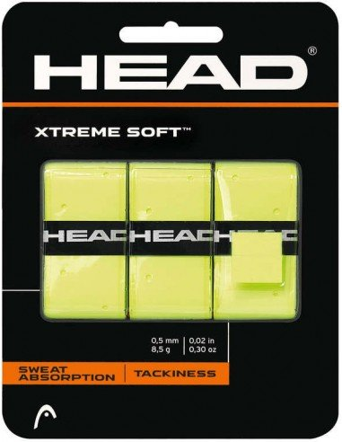 Head Xtreme Soft yellow 3-pack