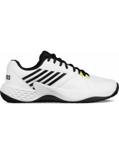 e0e4adde11a Kswiss Aero Court Omni White/Black/Neon. Beschikbaar. Tennisschoenen