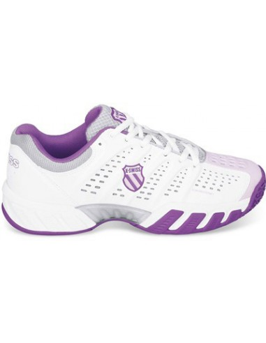 K-Swiss Junior Big Shot Light Omni White/Purple